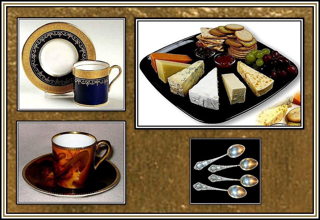 Cheese and Biscuits Collage