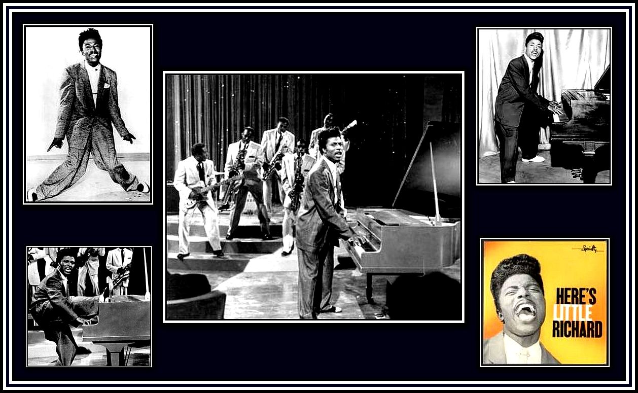 Little Richard in his prime collage