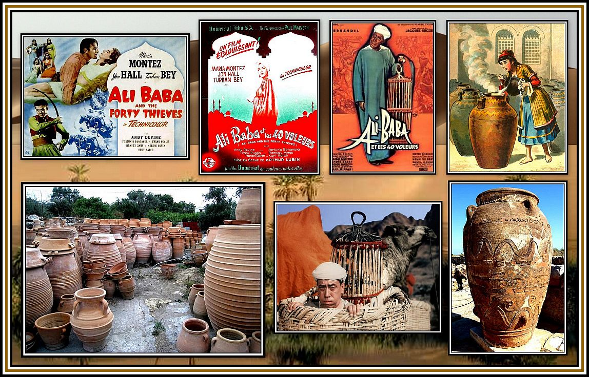 Pots, Palms & Ali Baba Collage