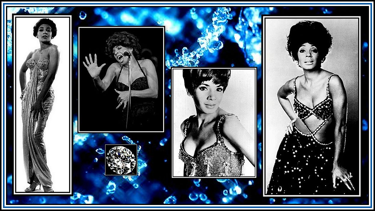 Shirley Bassey Collage