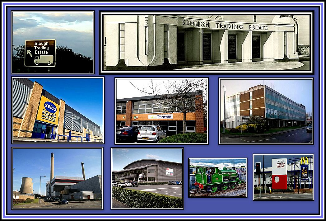 Slough Trading Estate Collage