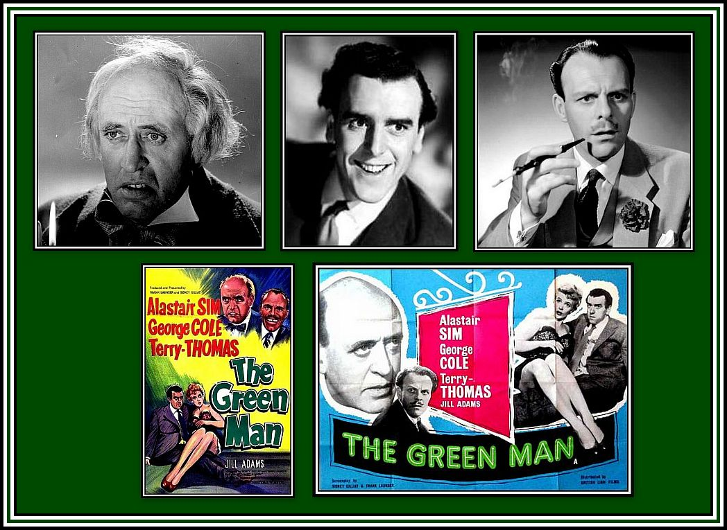The Green Man Collage