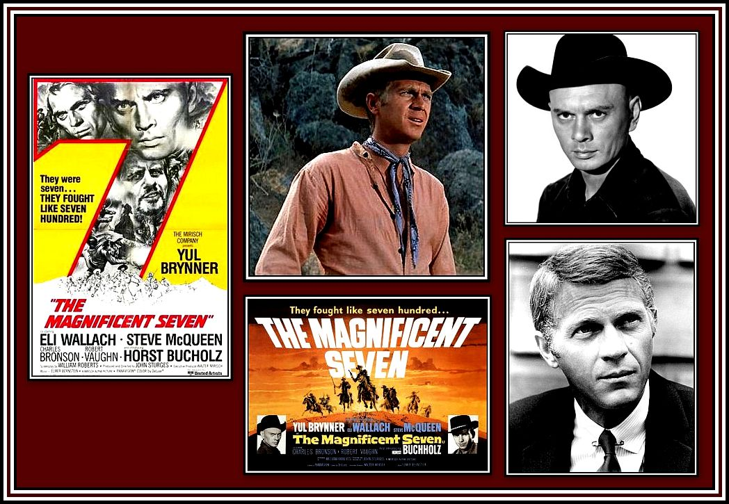 The Magnificent Seven Collage