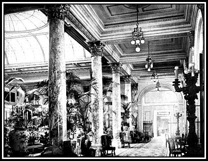 The Palm Court of the Plaza Hotel, New York City
