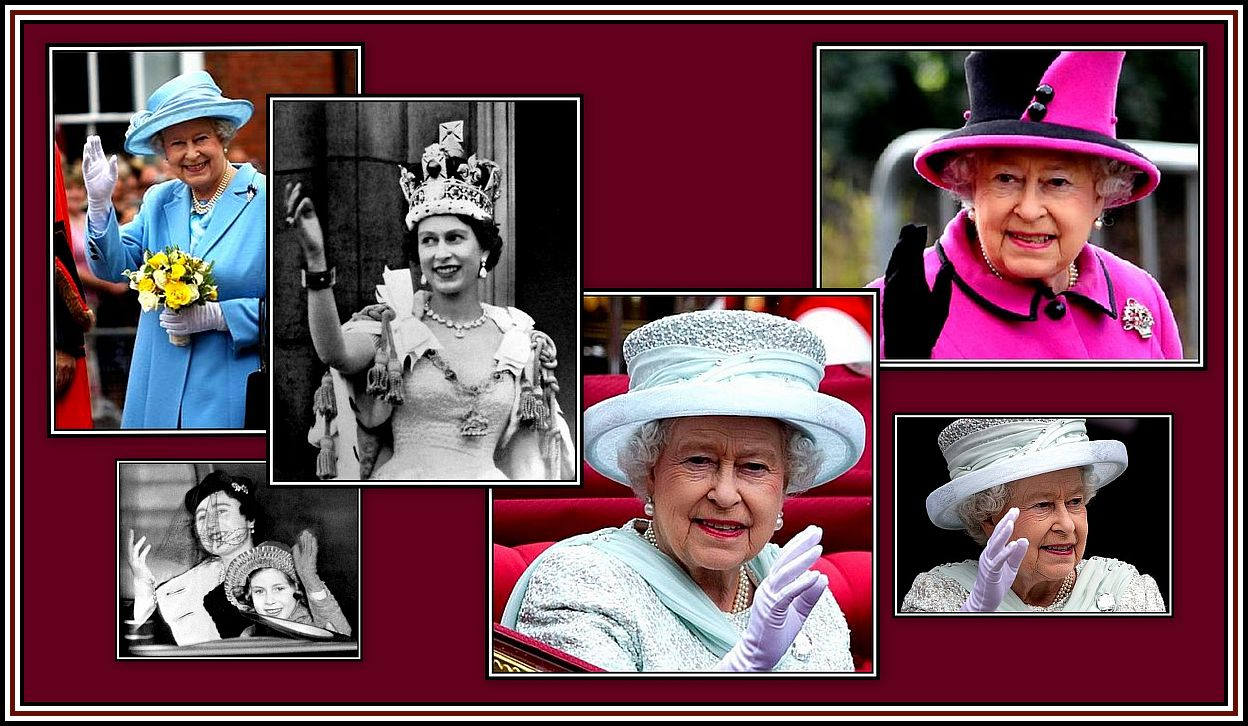 The Queen Collage