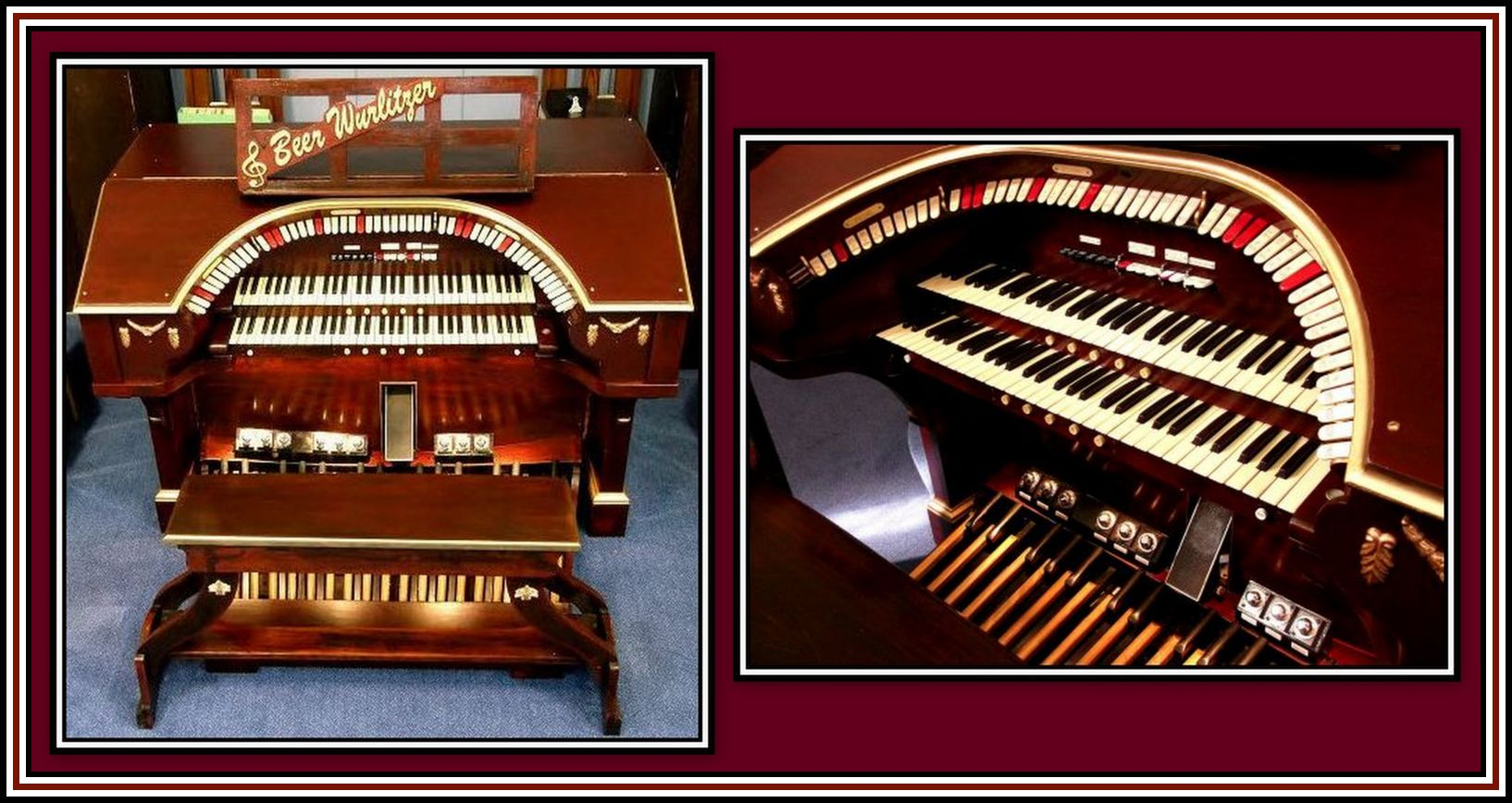 Beer Wurlitzer Collage