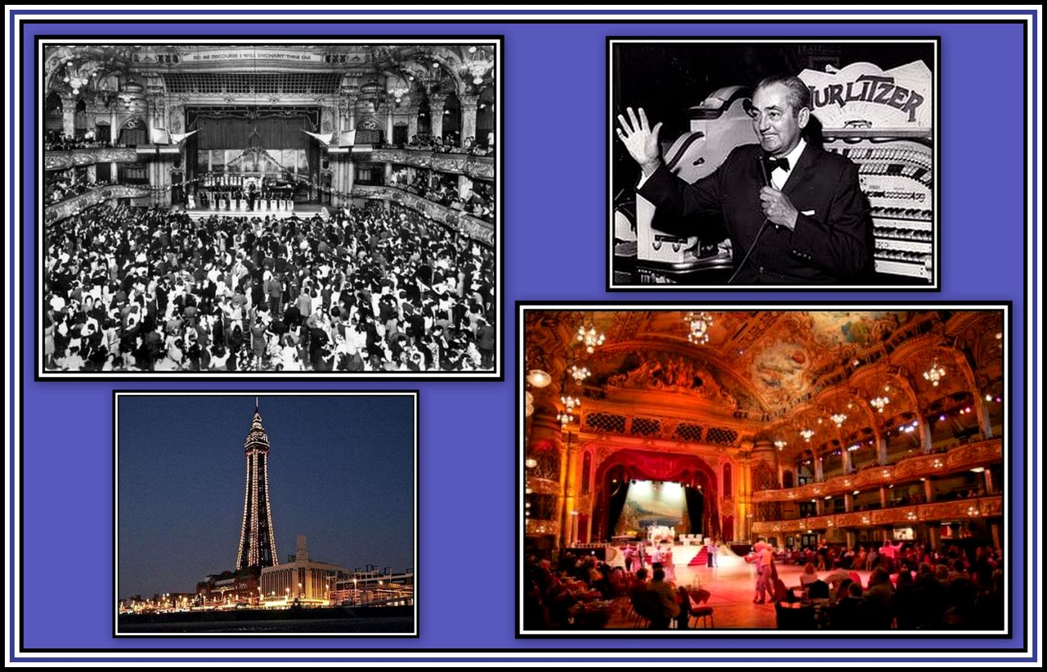 Blackpool Opera House & Tower Collage
