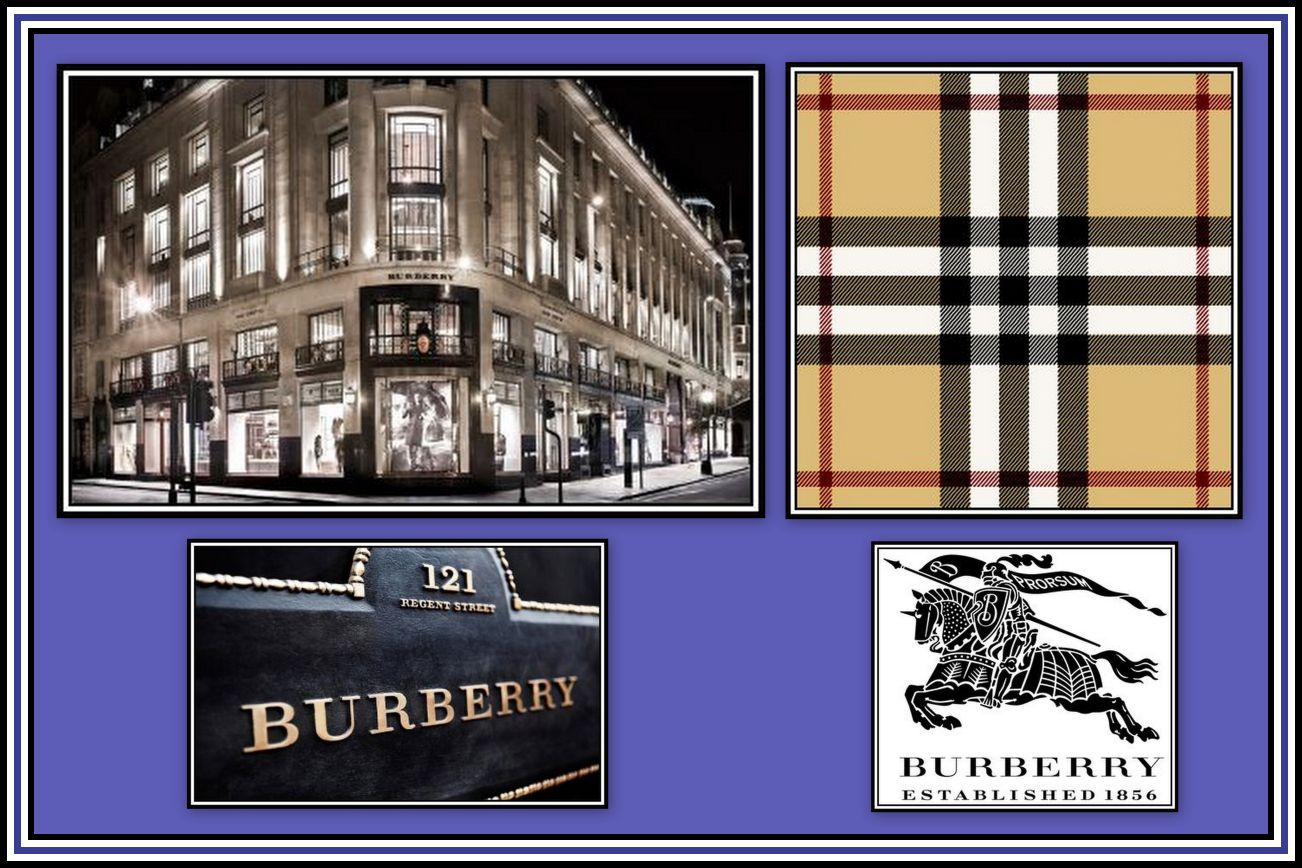 Burberry Collage 1
