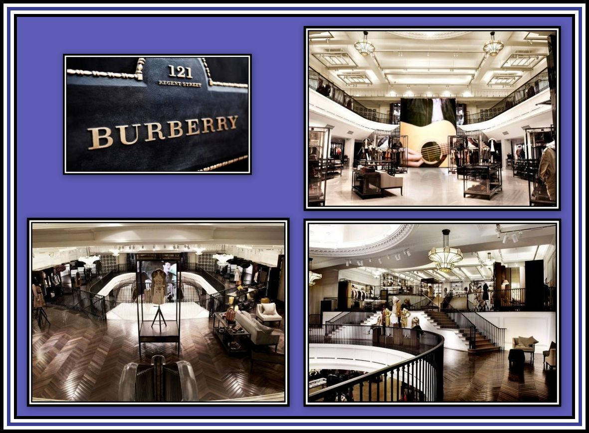 Burberry Collage 2
