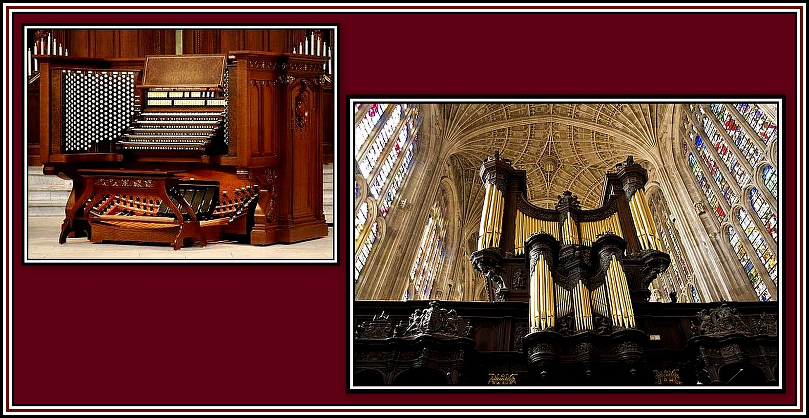 Church Organ Collage