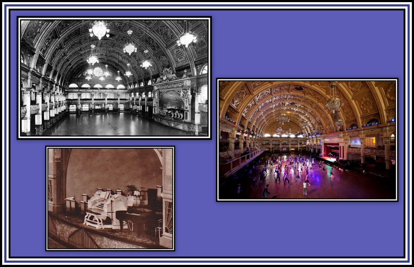 Empress Ballroom & Wurlitzer Collage