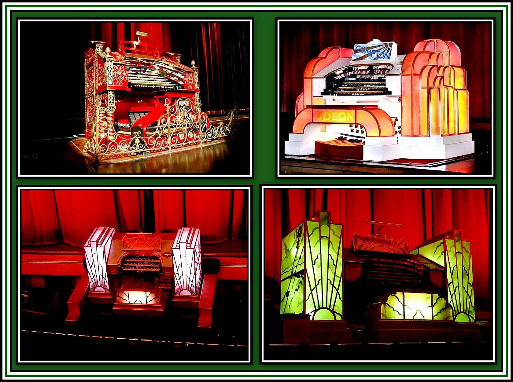 Glorious Theatre Organs Collage