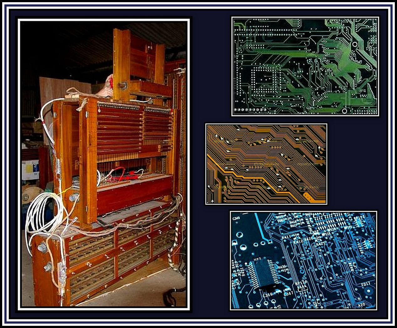 Relay & Computer Boards Collage