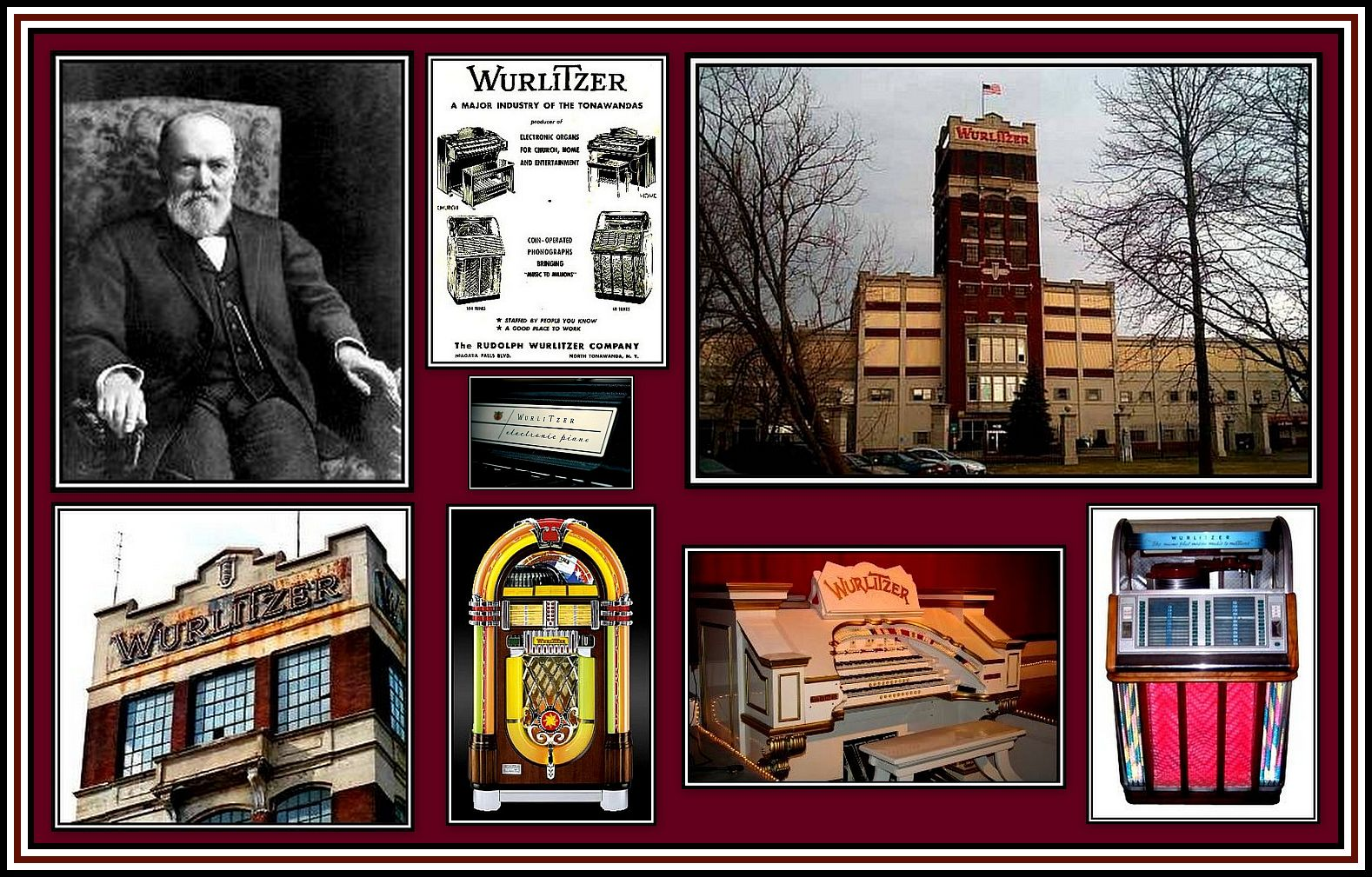 Wurlitzer Collage
