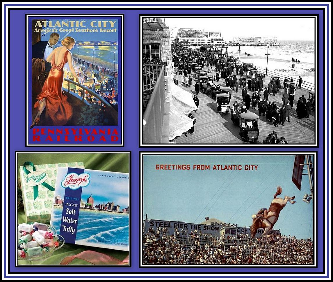 Atlantic City Memories Collage