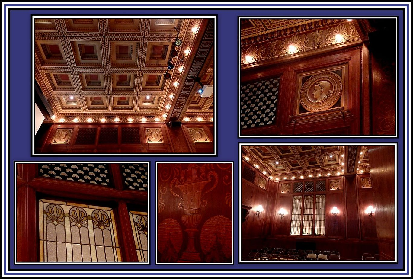 Greek Hall Collage