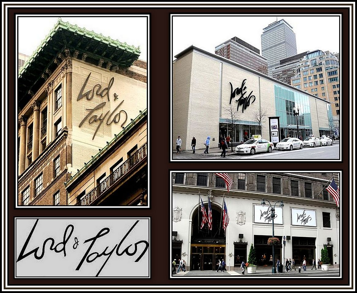 Lord and Taylor Collage