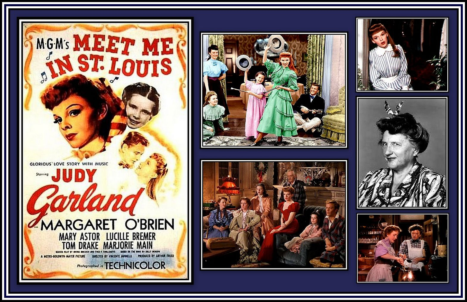 Meet Me In St. Louis Collage