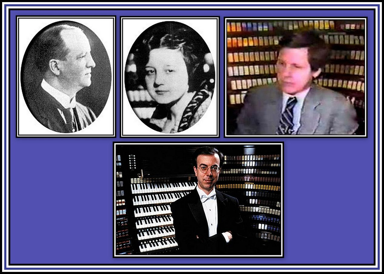 Organists in Residence Collage