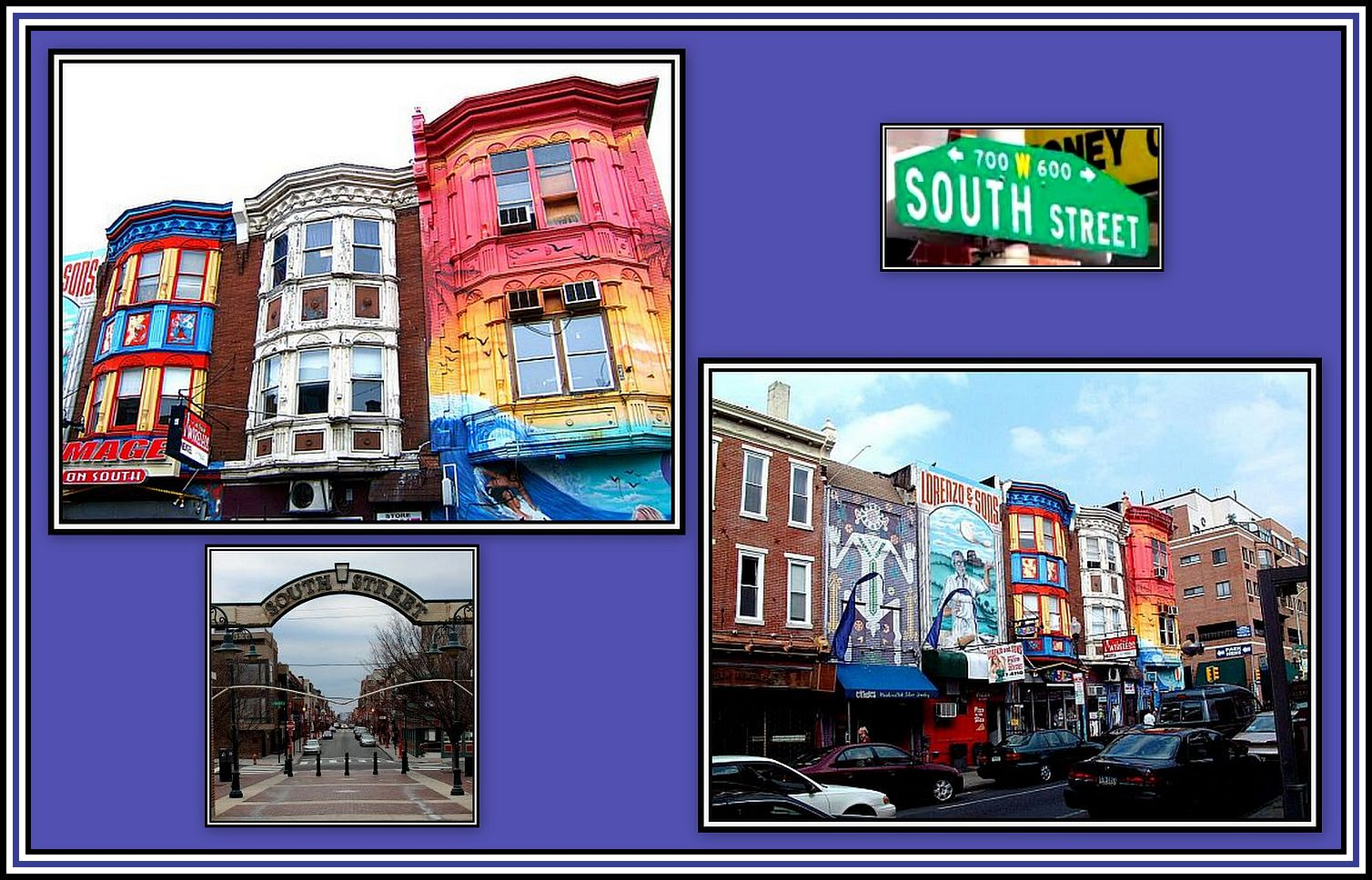 South Street Collage