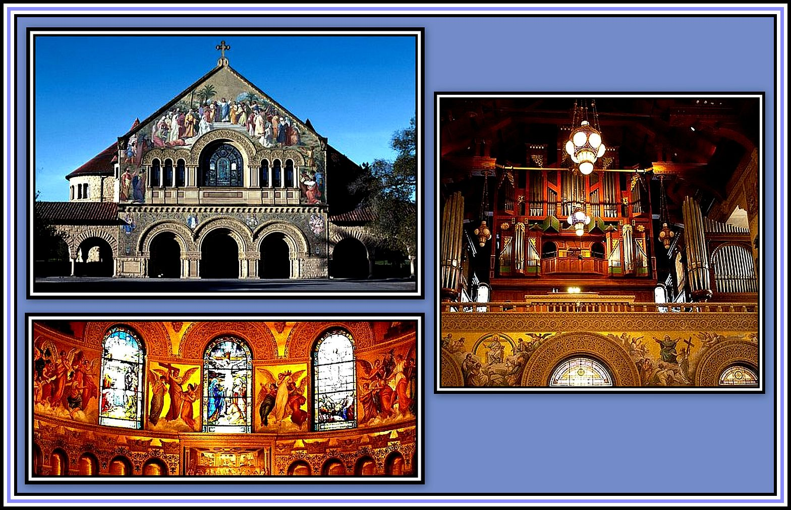 Stanford Chapel Collage