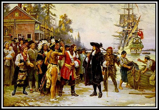 The_Landing_of_William_Penn by Jean Leon Gerome Ferris