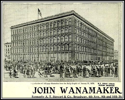 Wanamaker's New York City