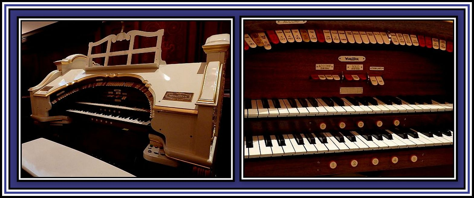 Thomas organ company pension - Wurlitzer Organ Collage