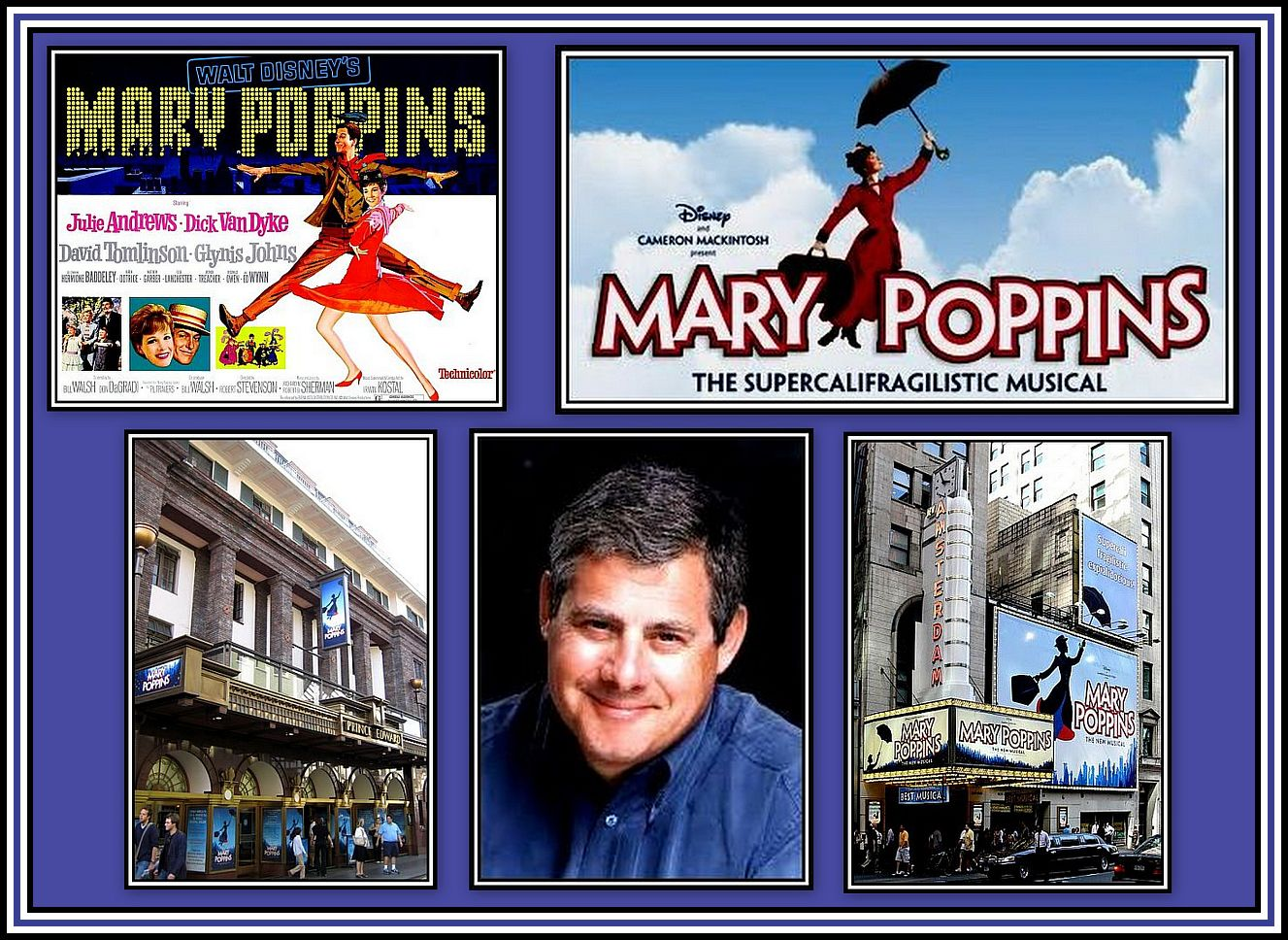 Mary Poppins Collage