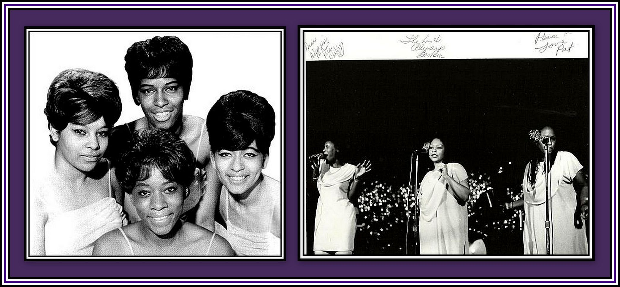 The Chiffons Collage
