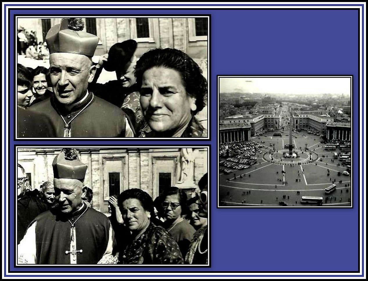 Mother in Rome & Cardinal Collage