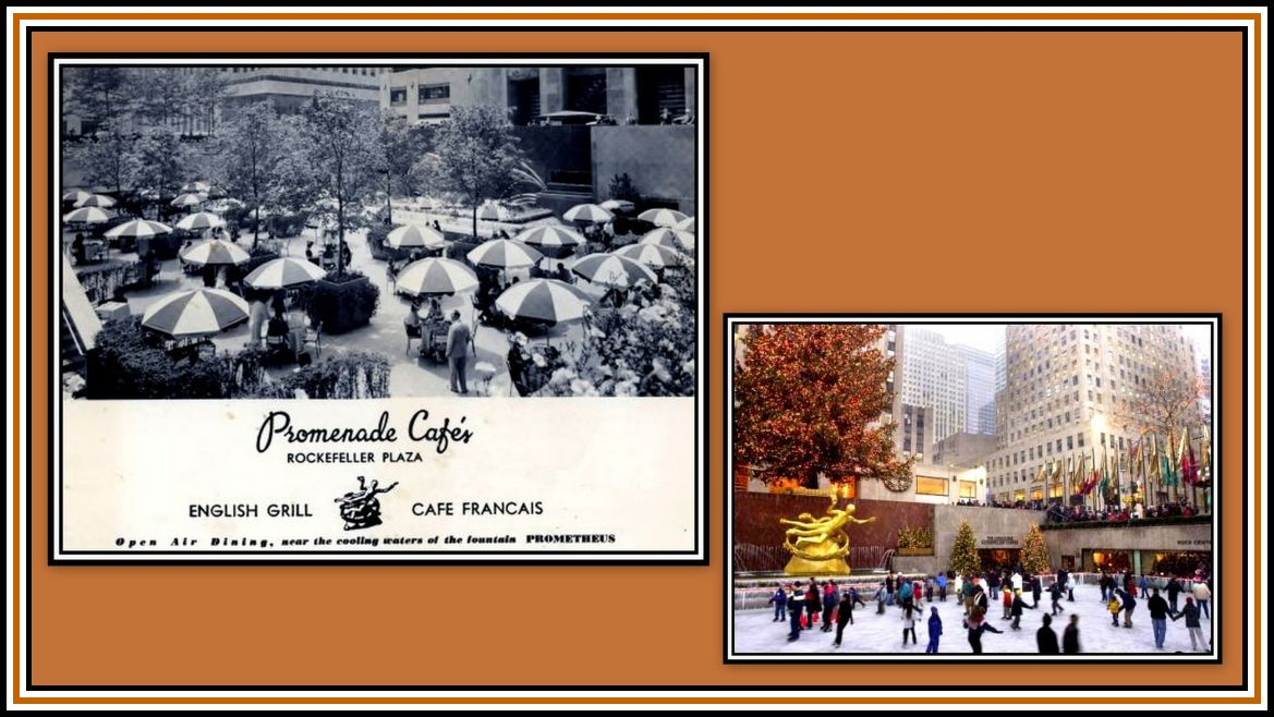 The Cafe and The Ice Rink Collage