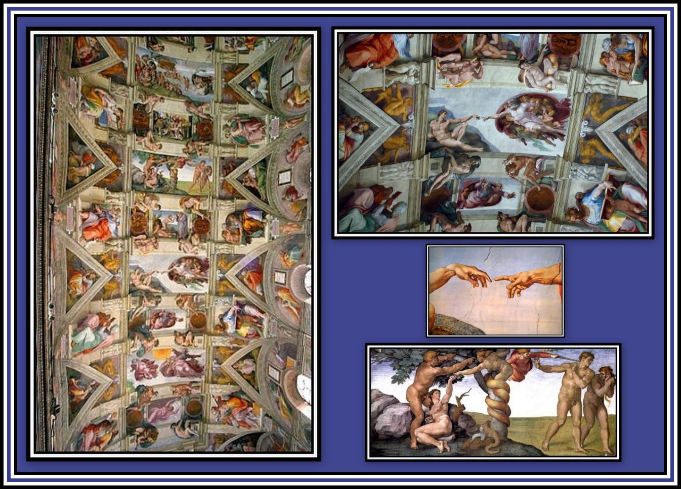 The Sistine Chapel Collage