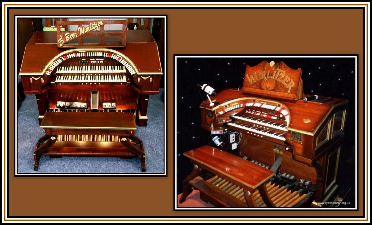 Beer & Rye Wurlitzer Collage