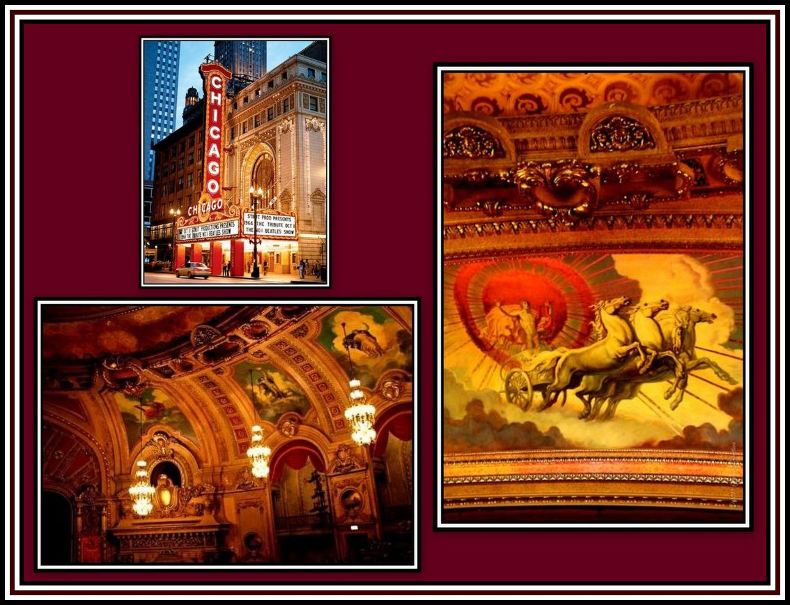 Chicago Theater Murals Collage