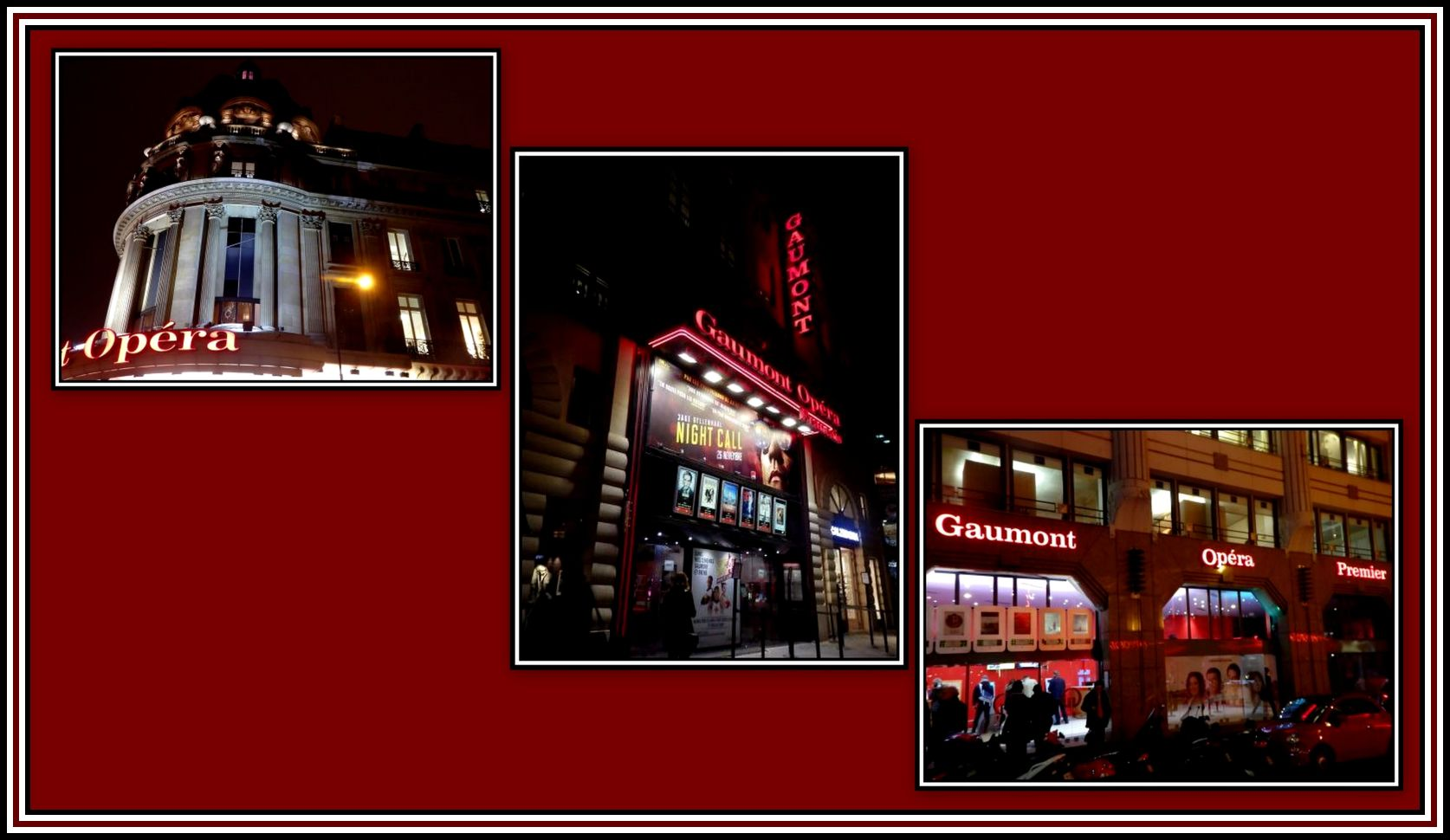 3 Gaumont Operas Collage