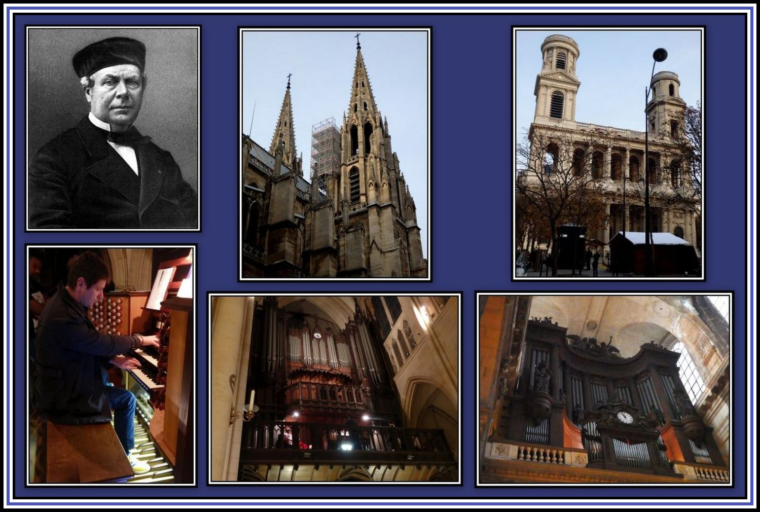 Cavaille-Coll Organs Collage 1