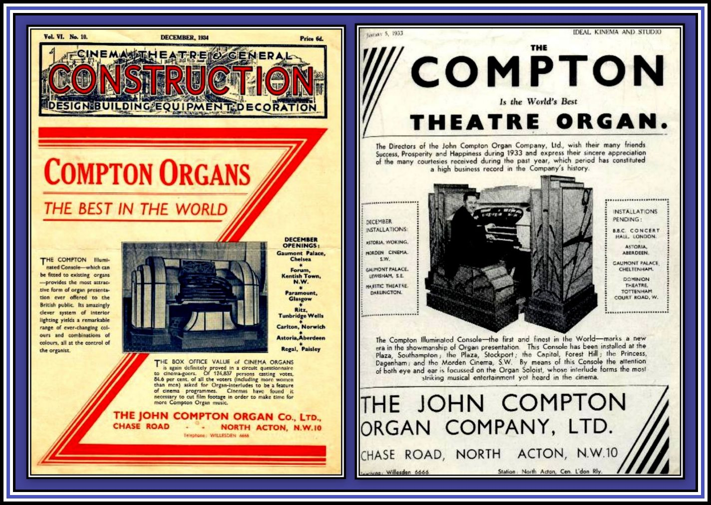 Compton Adverts Collage