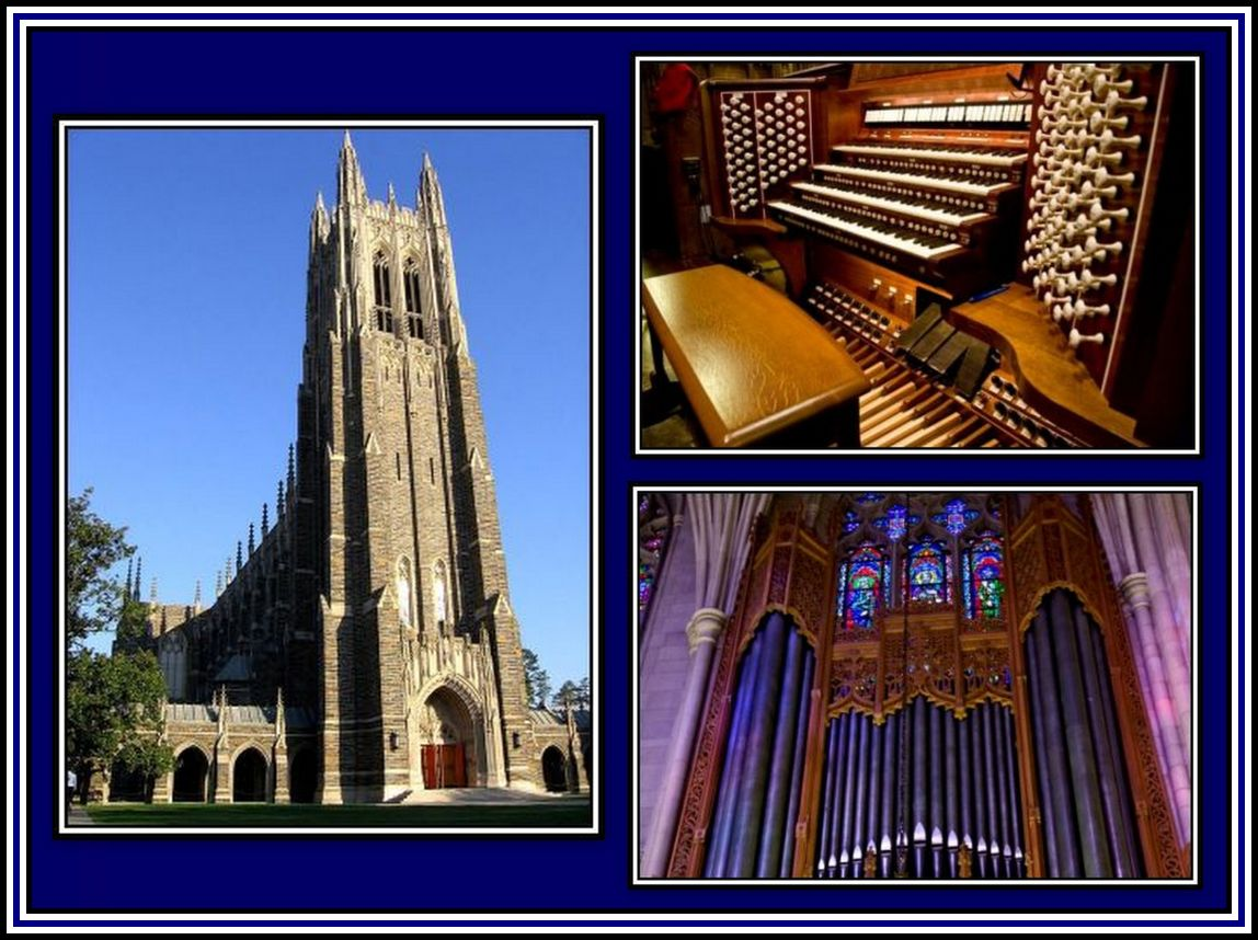 Duke Chapel Collage