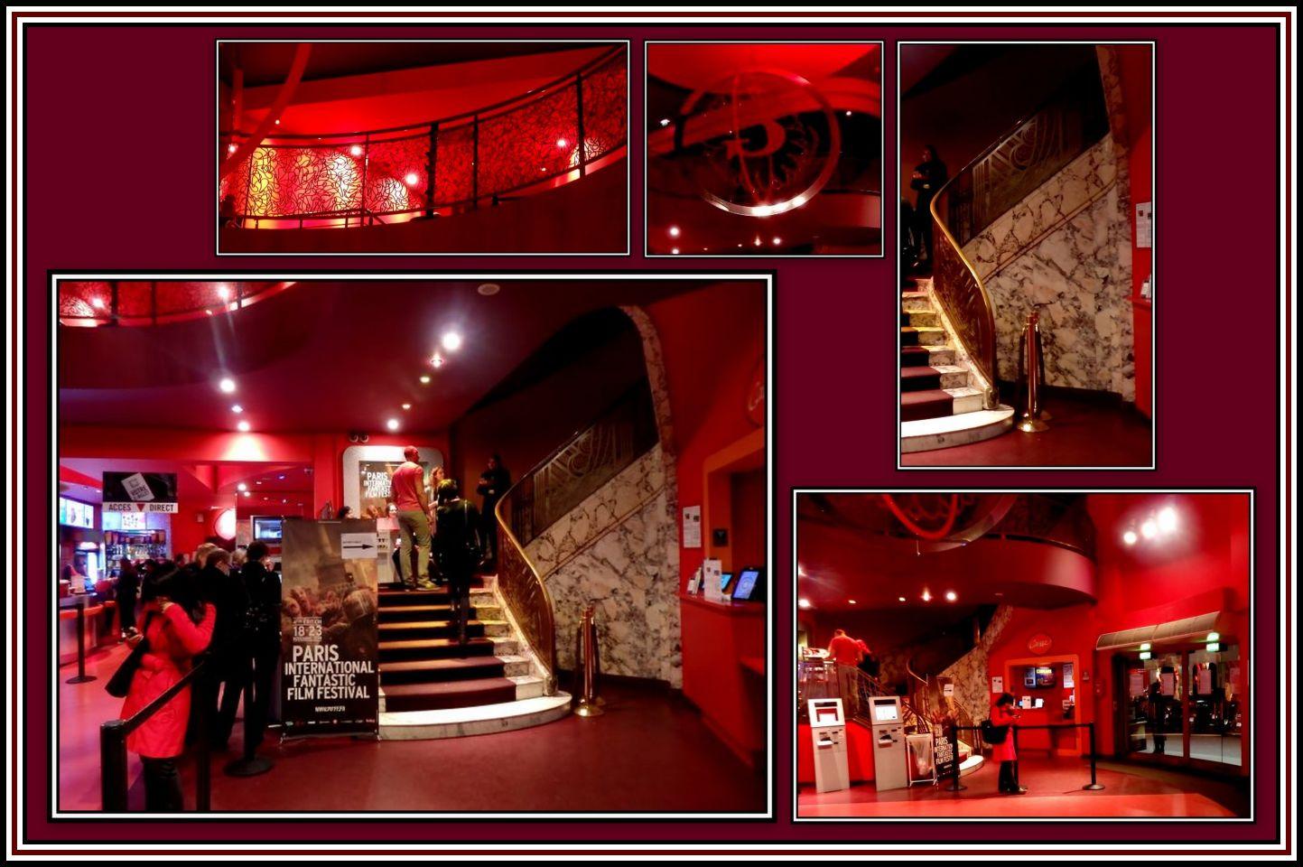 Gaumont Opera Foyer Collage