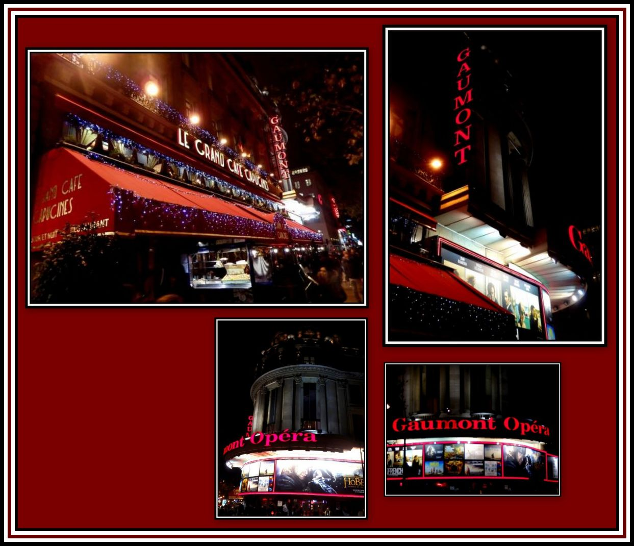 Gaumont Opera Today Collage 2