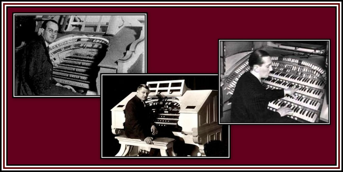 Organists Collage