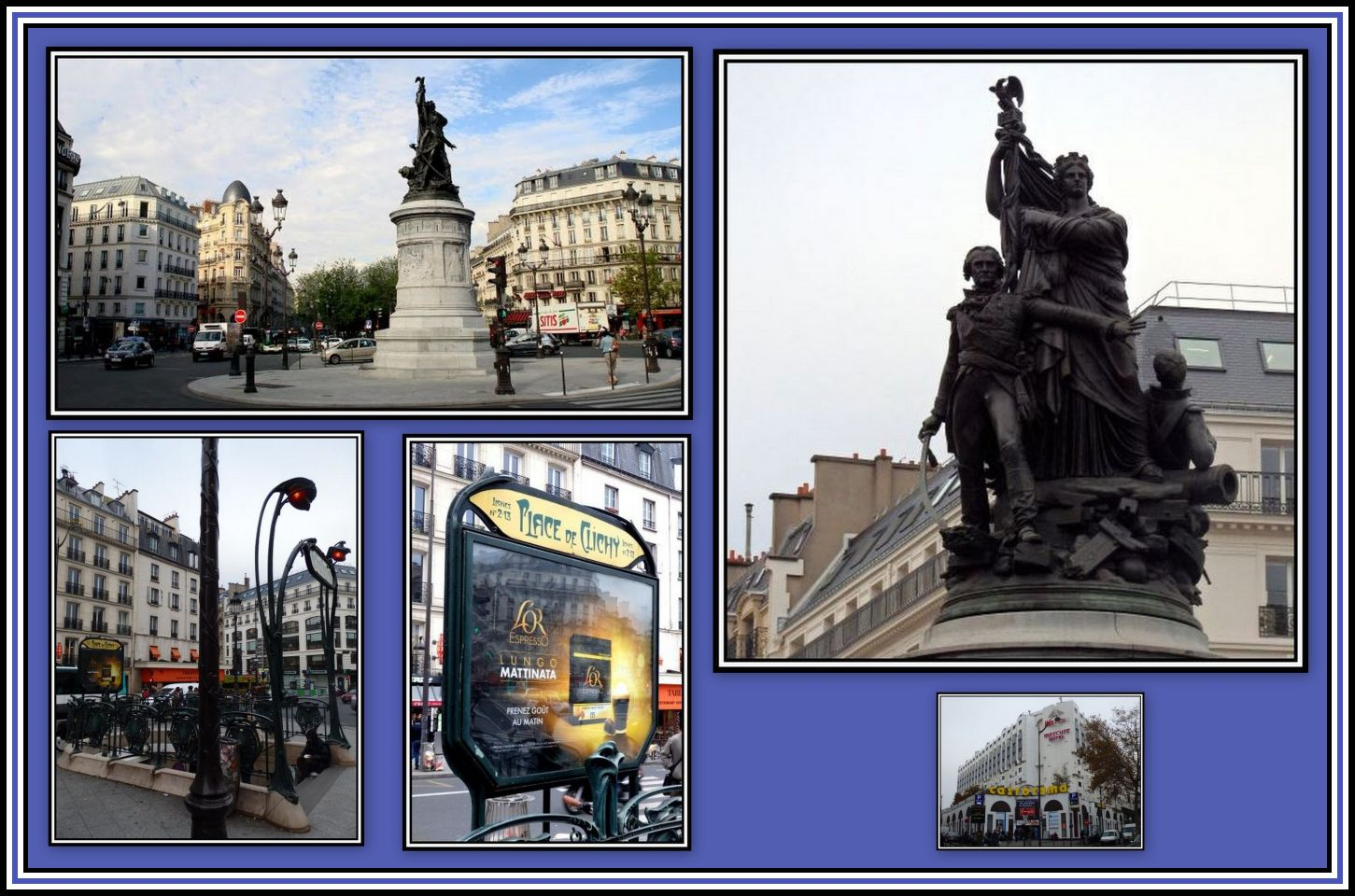 Place de Clichy Collage 2