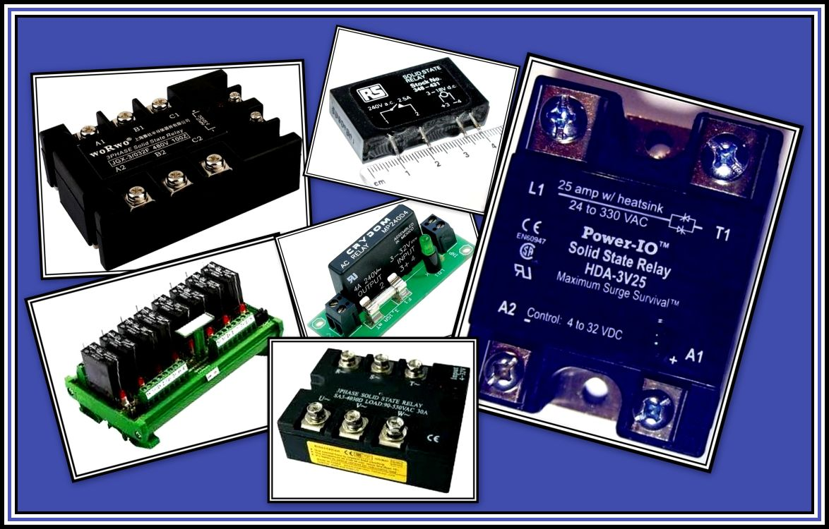 Solid State Relay Collage