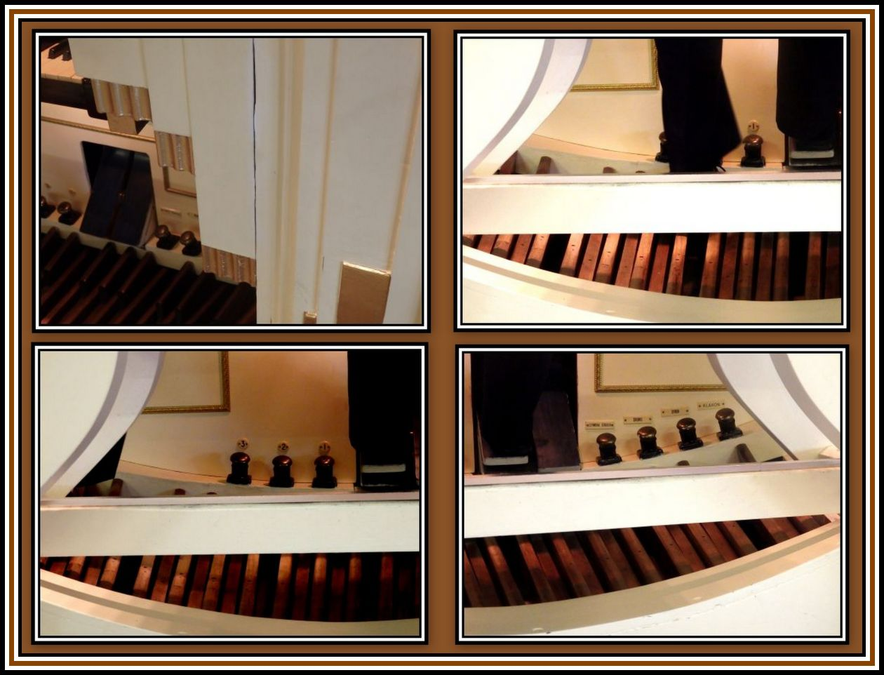 Foot Pedals Collage