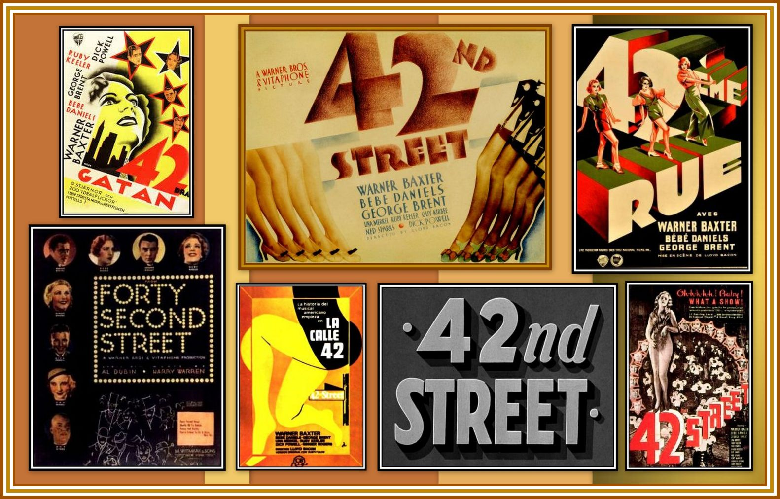 42nd St. Collage