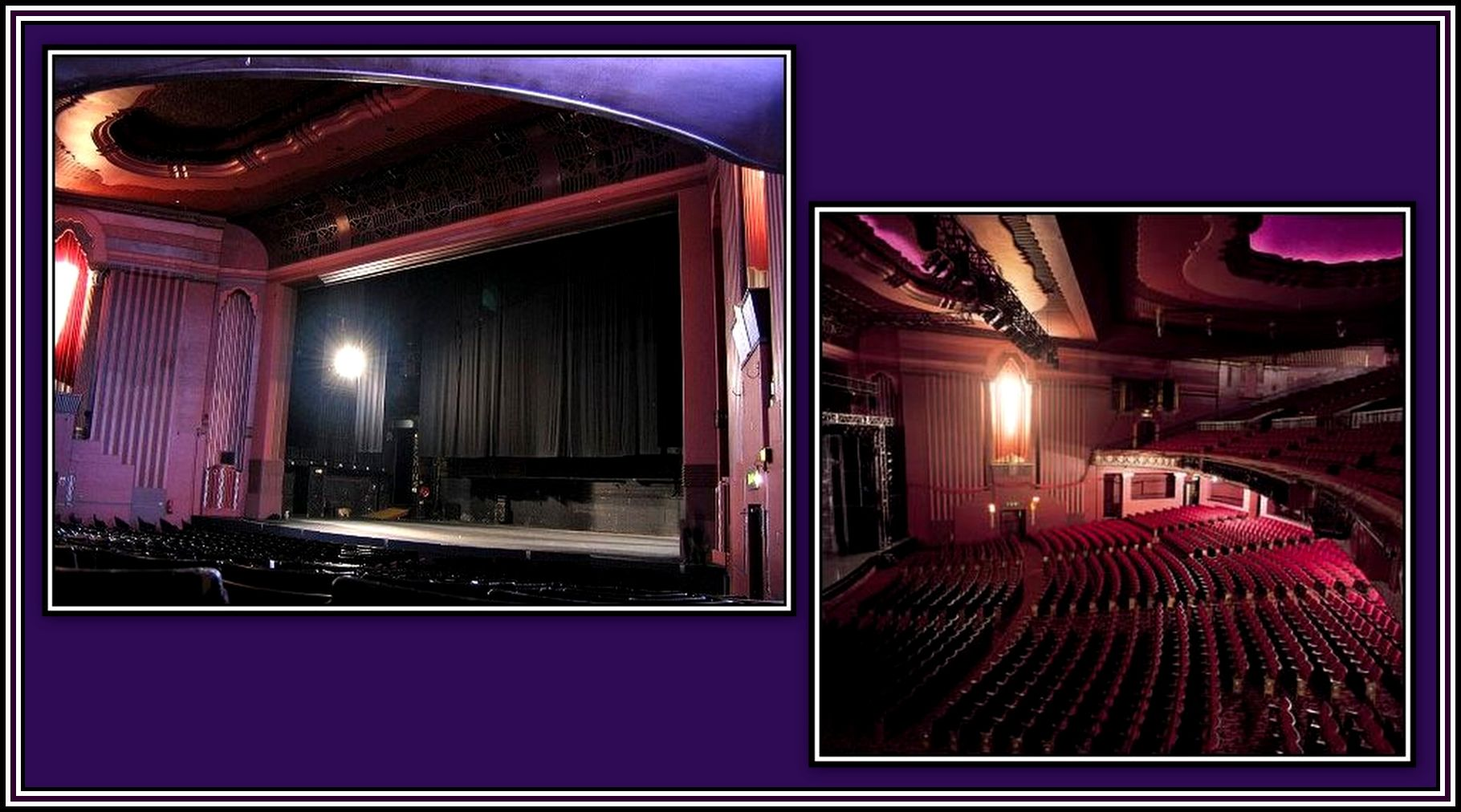 Apollo Hammersmith Interior Collage