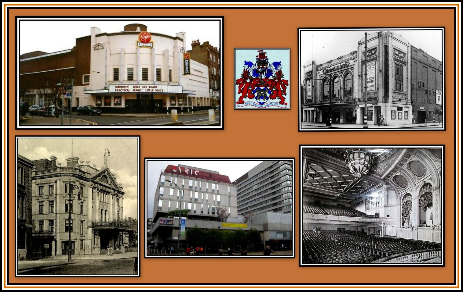 Cinemas and Theatres of Hammersmith Collage
