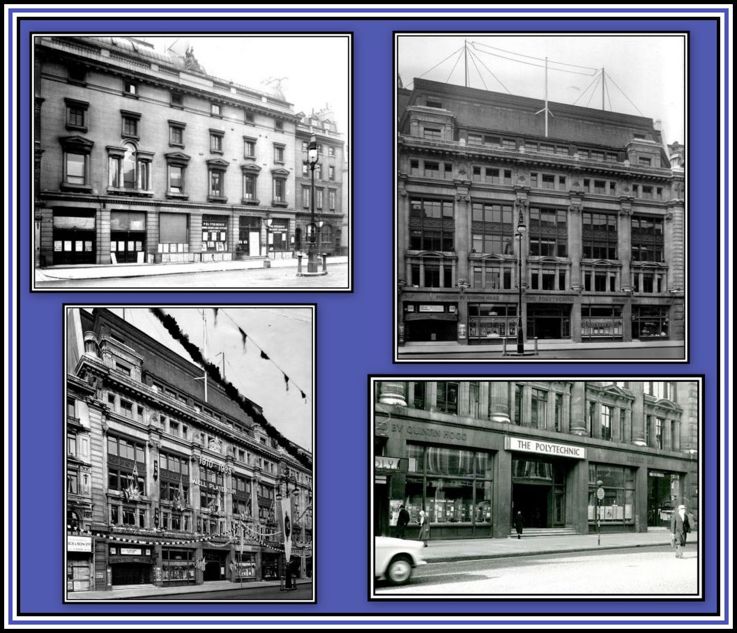 Exterior over the years Collage