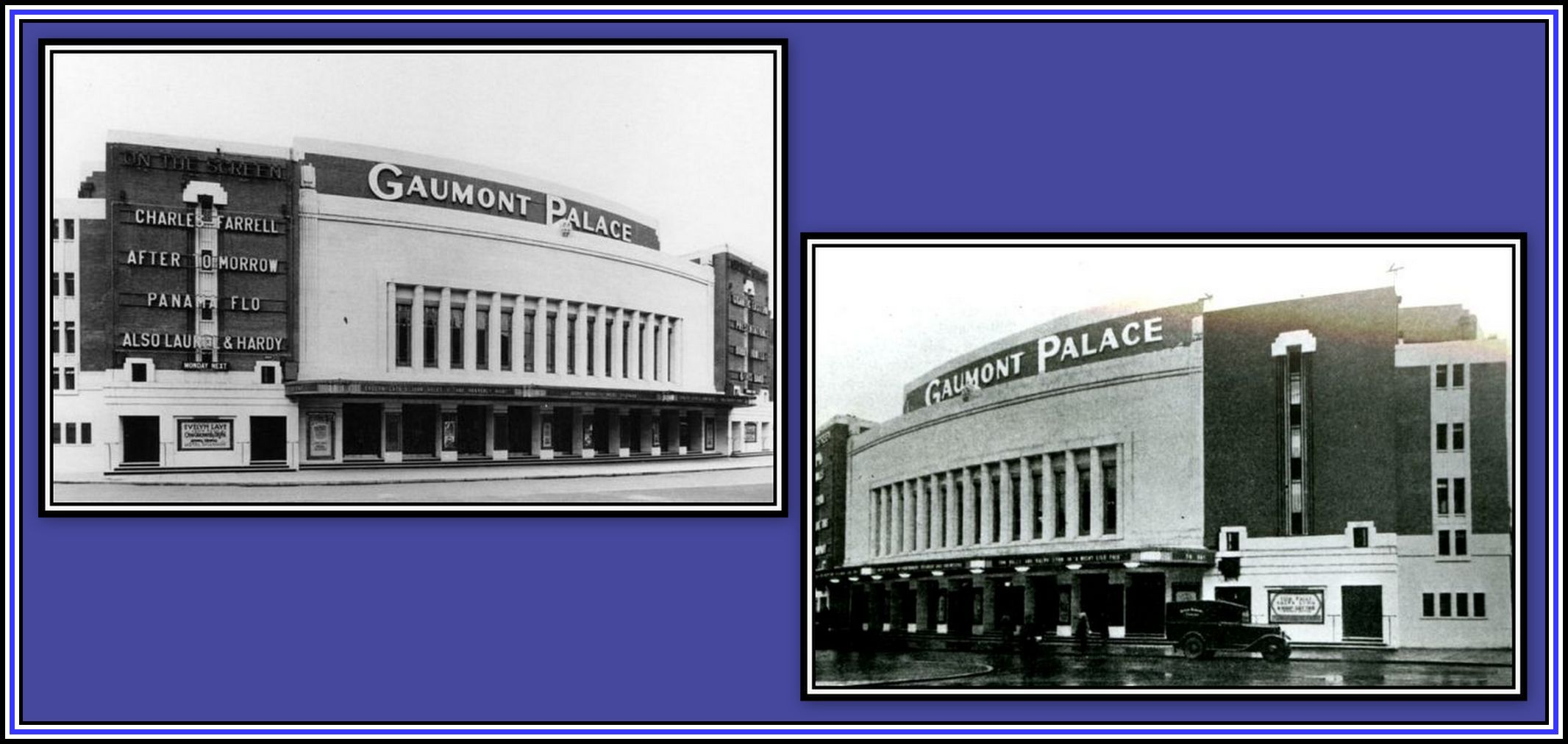 Gaumont Palace Exterior Collage